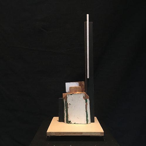 Islwyn Watkins (1938-2018) Abstract sculpture