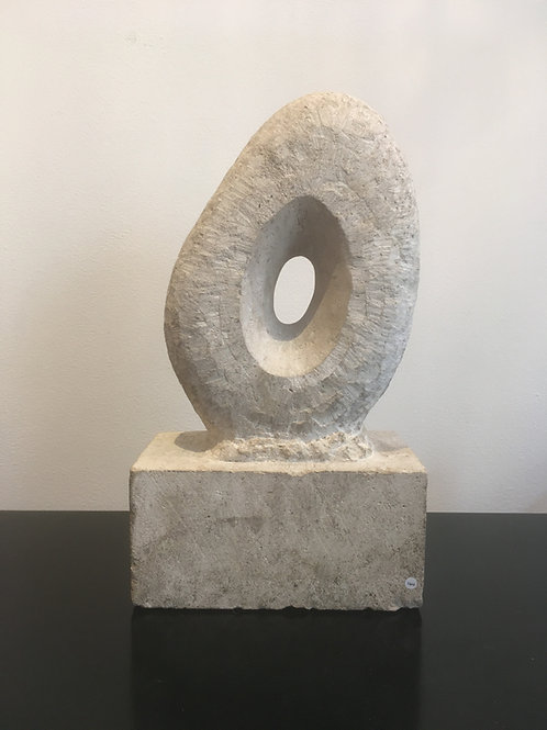 Modernist sculpture. St Ives school stone carving.