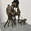 Thumbnail: Brutalist, abstract sculpture of a family group