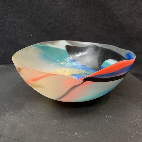 Late 20th century rubber bowl.
