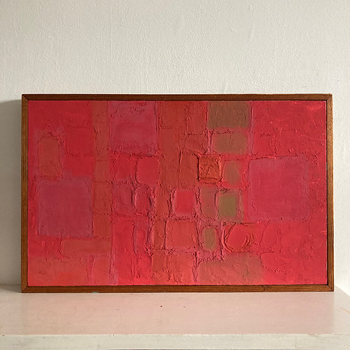 William Chard. Mid century abstract colourfield painting.