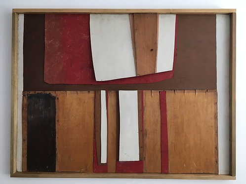 Islwyn Watkins (1938-2018) Modern British abstract relief.