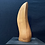 Thumbnail: Mid century, signed abstract wood carving.