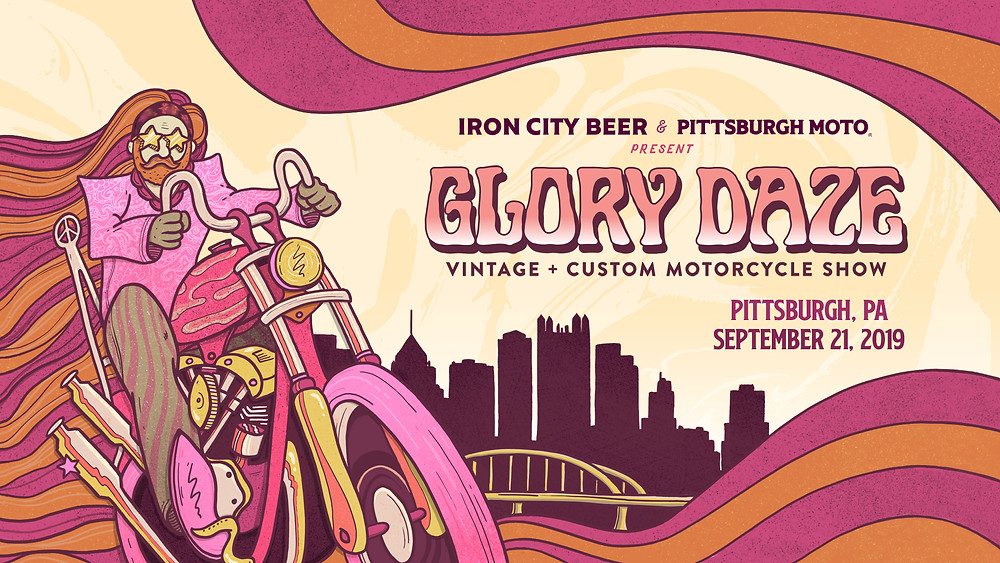 Glory Daze Motorcycle Show Pittsburgh
