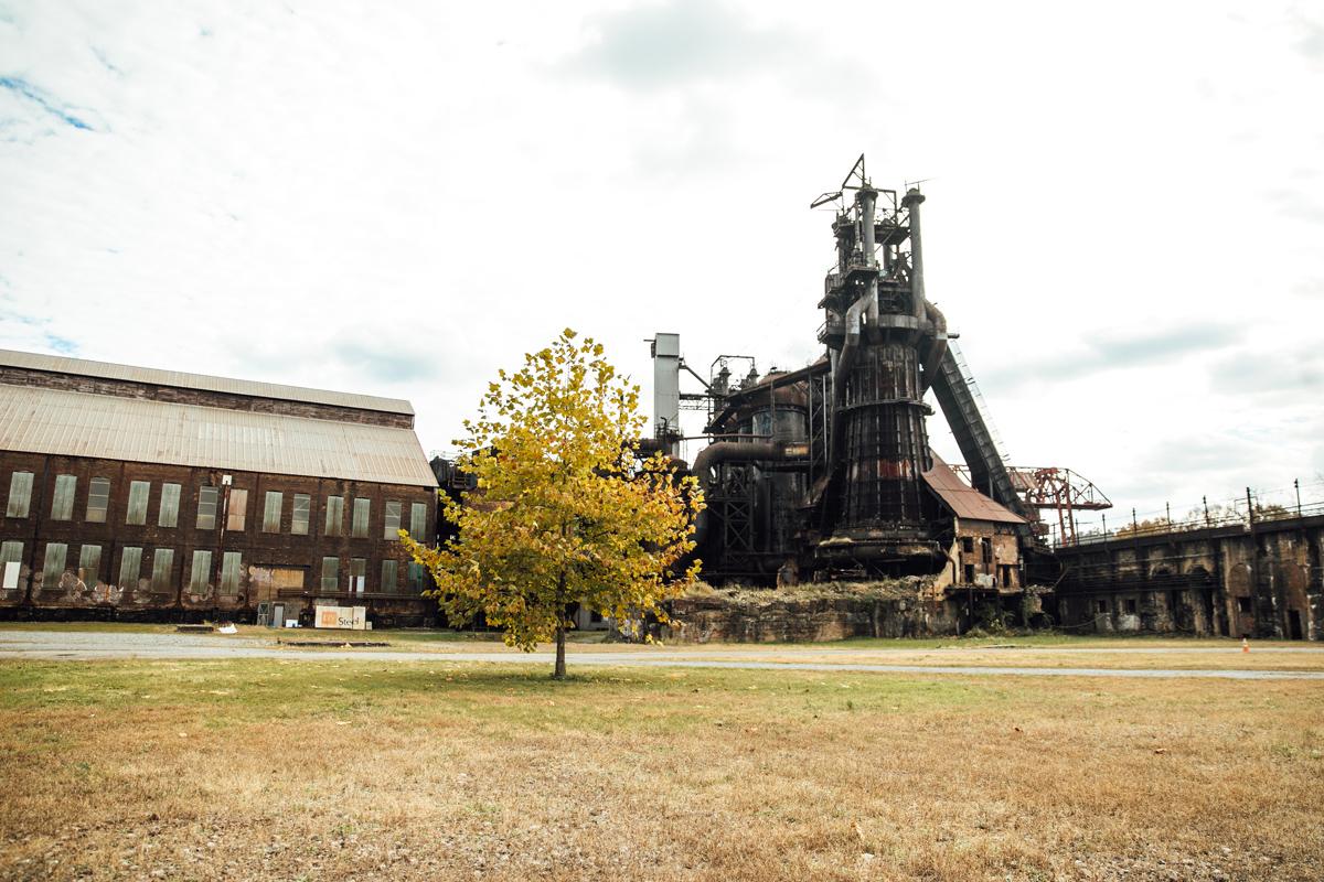 Carrie Blast Furnaces - Pittsburgh, Pennsylvania