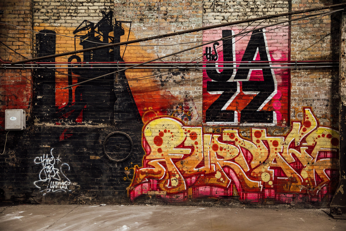 Carrie Furnace, Pittsburgh - Glory Daze Motorcycle Show