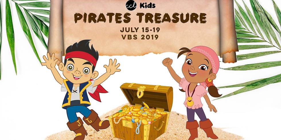 Pirate's Treasure VBS