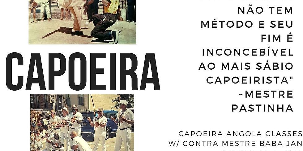 Saturday Capoeira Angola Class