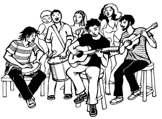 Samba Jam @ Espaço Cultural Samba Trovão!