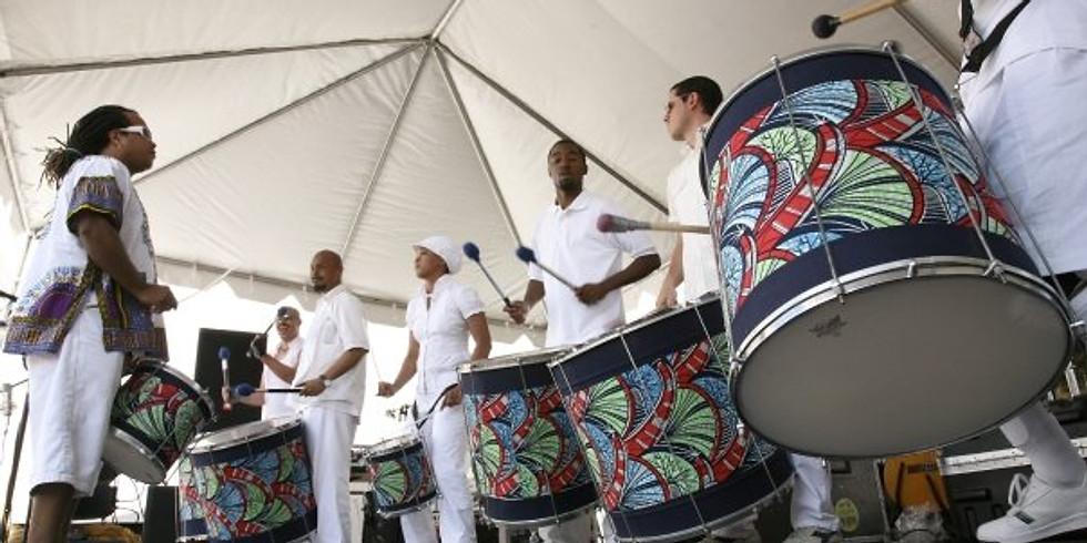Friday Repinique - Brazilian Percussion Class