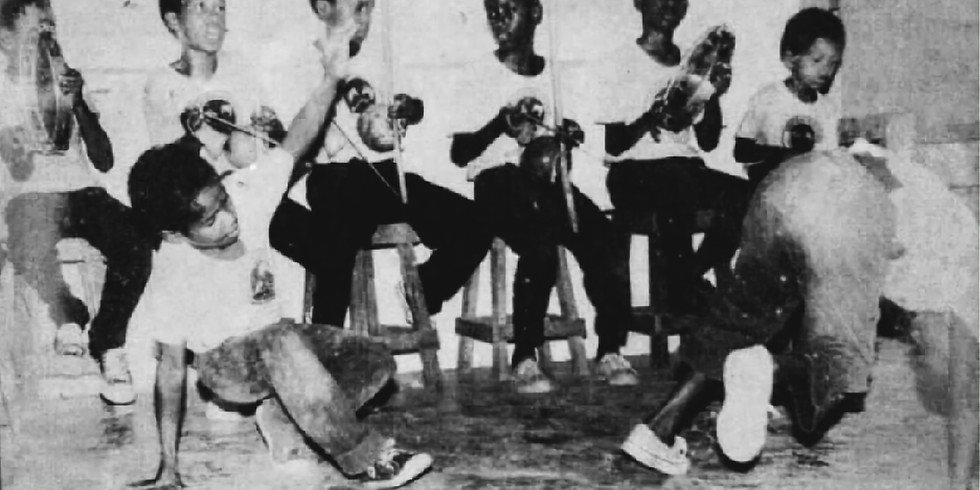 Saturday Kids Capoeira Angola Class