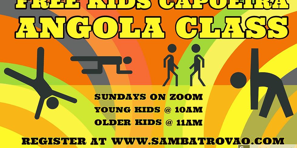 FREE Kids Capoeira Angola Class