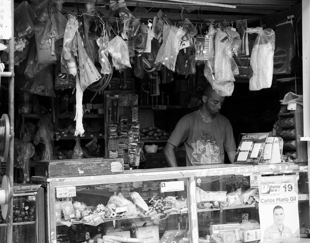 Street Vendor - Paeira, Colombia 2015