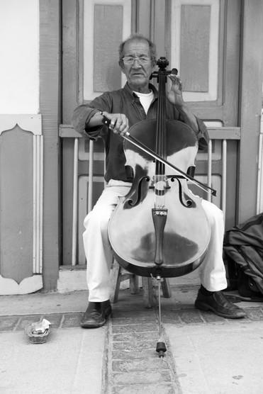Street Musician - Salento, Colombia 2015
