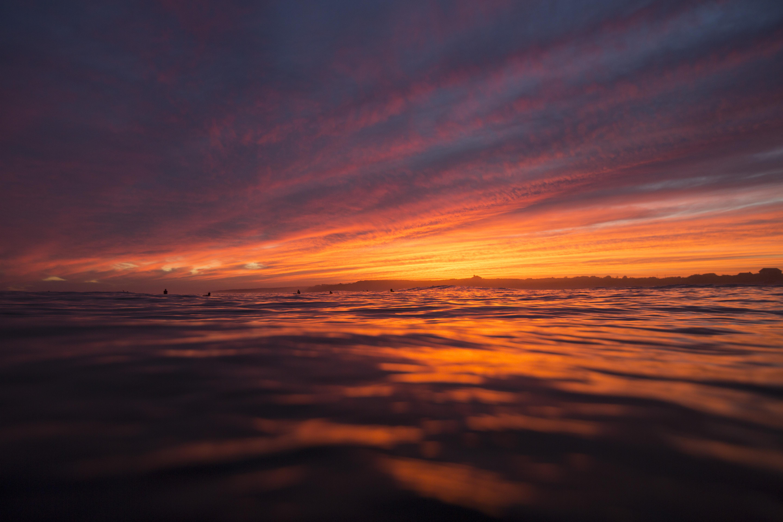 Ditch Plains Sunset