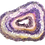 Thumbnail: Amethyst crystals Geode
