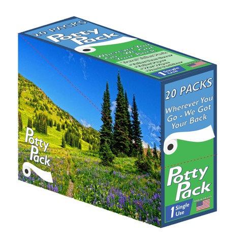 Box of 20 Potty Packs