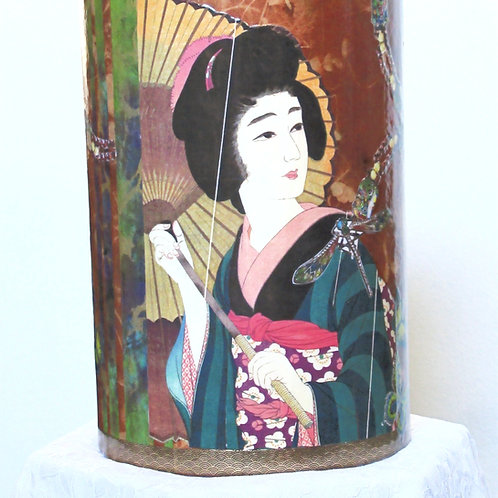 Geisha with Parasol