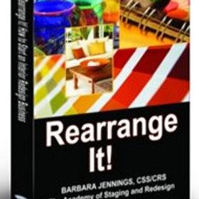 Rearrange It eBook (Interior Redesign Business)