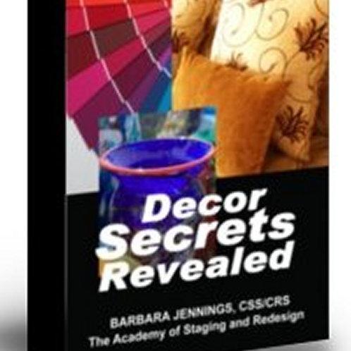 Decor Secrets Revealed eBook