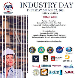Greater Hampton Roads Chapter | WID - 2nd Annual Industry Day, 2021