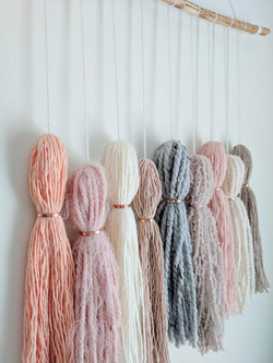 Tassels with Copper