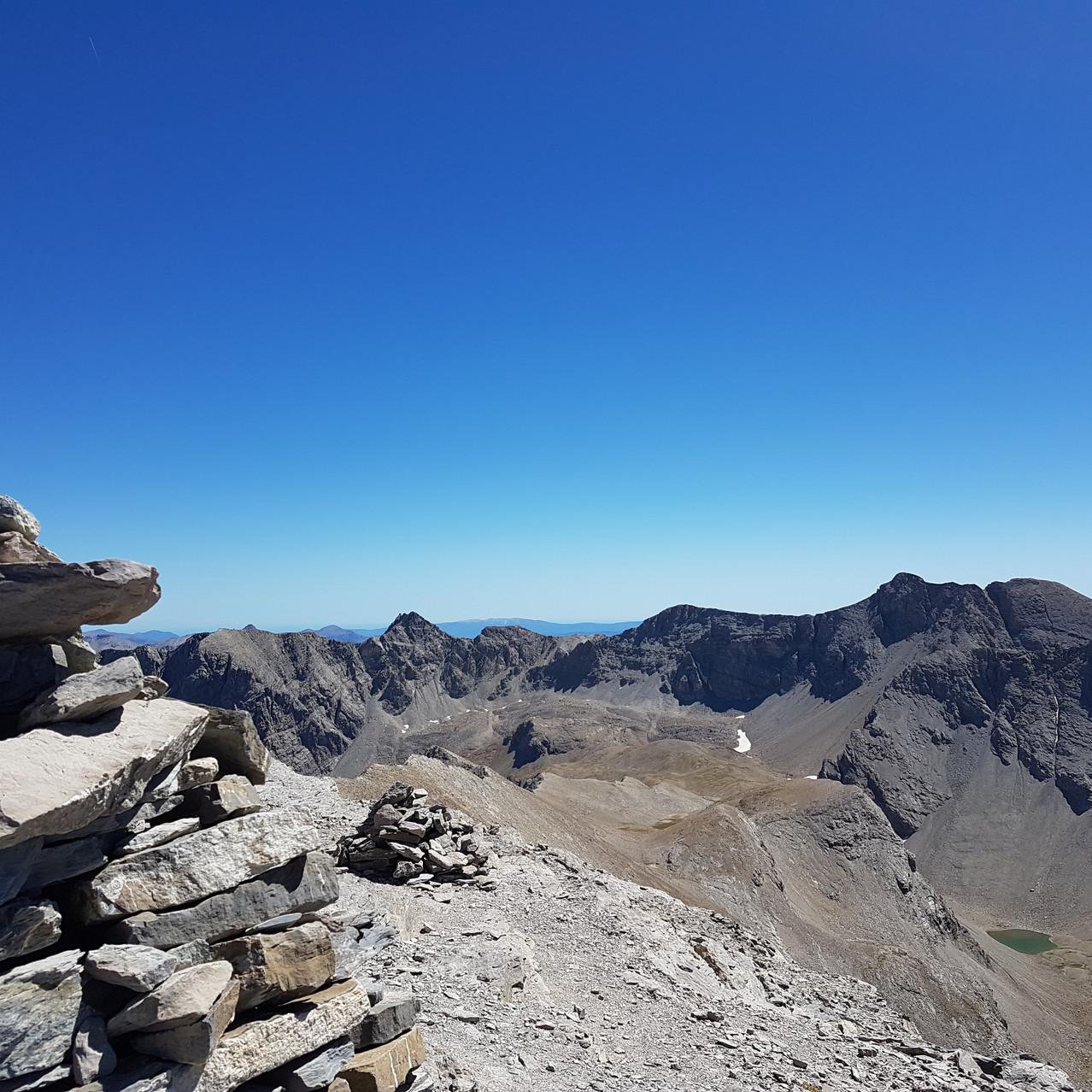 Mt Pelat vu du Cimet