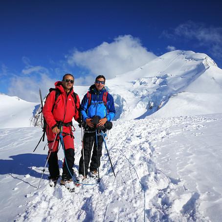 Un vrai Mont Blanc tout blanc !!!