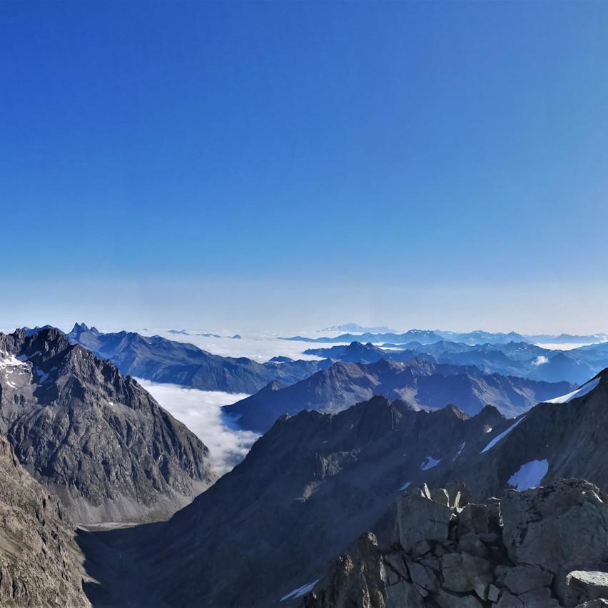 Superbe vue du sommet