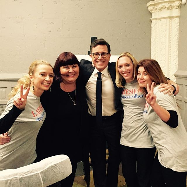 Spa Chicks X Stephen Colbert