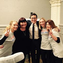 Spa Chicks X Stephen Colbert