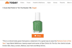 Today Show Best Drugshore Nail Polish Sp