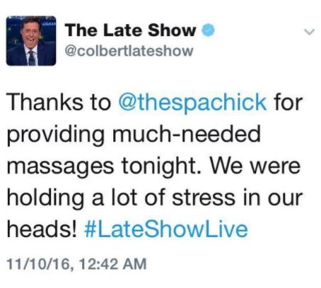 Late Night With Stephen Colbert