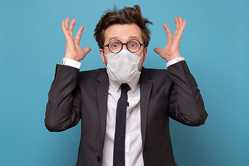glasses, mask, contact lenses