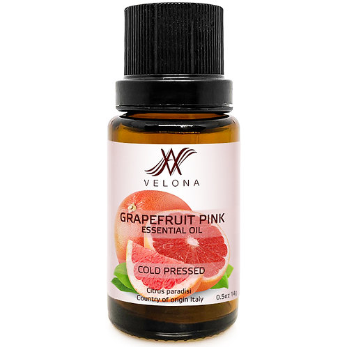 Grapefruit Pink ESSENTIAL OIL 100% NATURAL COLD PRESSED VELONA