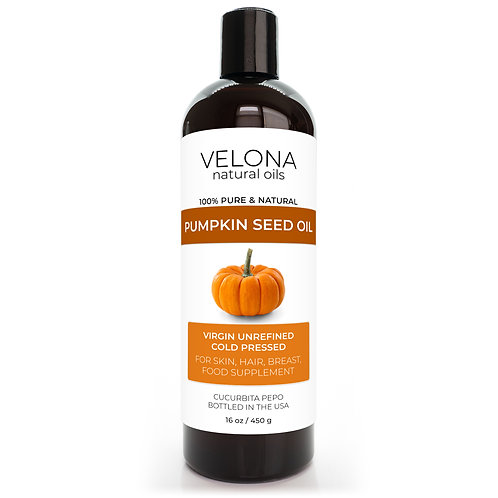 Pumpkin Seed Oil by Velona Unrefined, Cooking Cold Pressed Hair Body