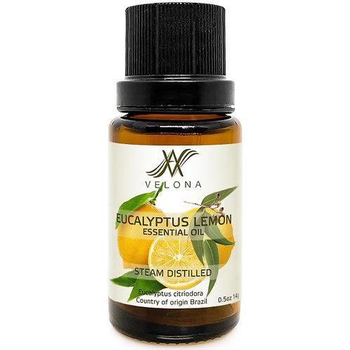Eucalyptus Lemon ESSENTIAL OIL 100% NATURAL STEAM DISTILLED VELONA