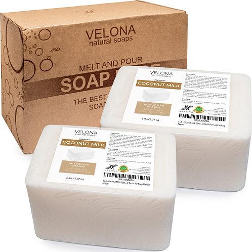 COCONUT MILK Glycerin Soap Base SLS/SLES Free Melt and Pour Natural for Making