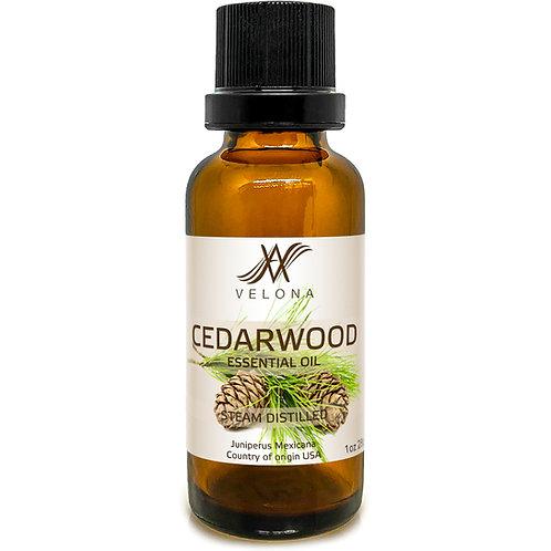 Cedarwood Essential Oil by Velona Boost Hair Growth Diffuser