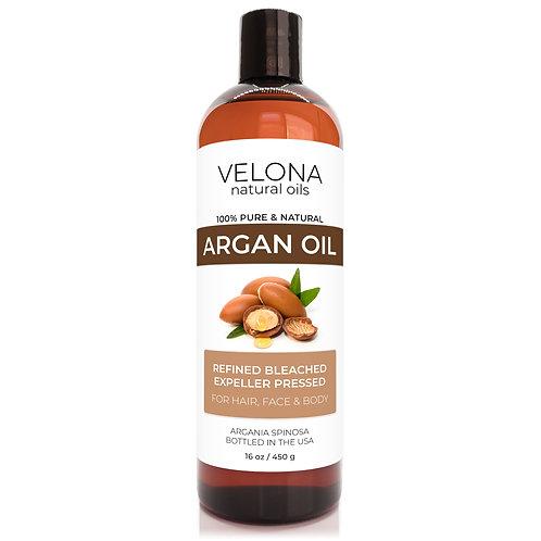 Argan Oil by Velona Refined Expeller Pressed Skin, Hair Body Face