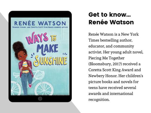 Author Spotlight:  Renée Watson