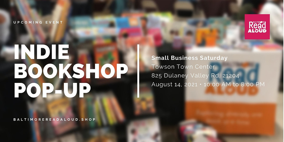 Indie Bookshop Pop-up