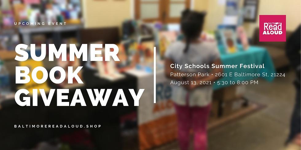 Book Giveaway: City Schools Summer Festival