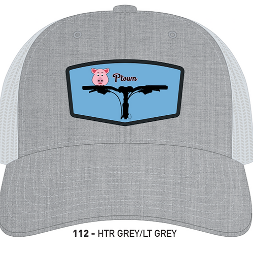 PIGGIE-Heather Grey/Light Grey