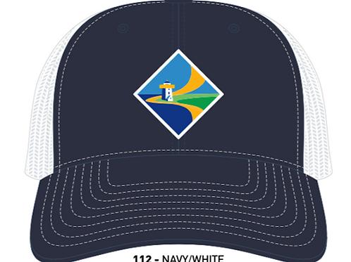 DIAMOND-Navy/White