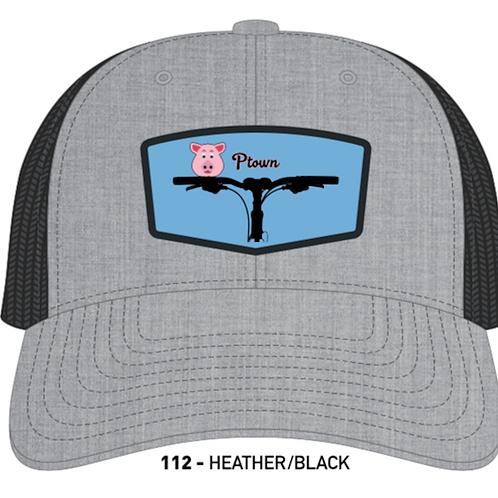 PIGGIE-Heather Grey/Black