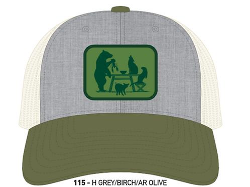 FARM TO TABLE-Heather Grey/Birch/Olive