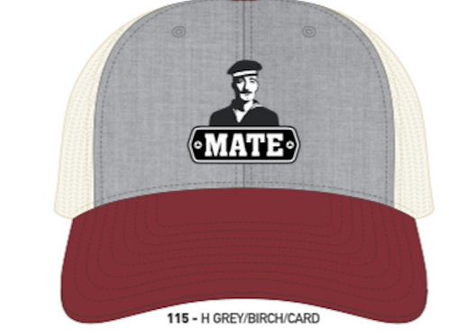 MATE-Heather Grey/Birch/Cardinal