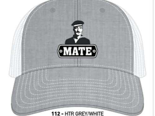 MATE-Heather Grey/White