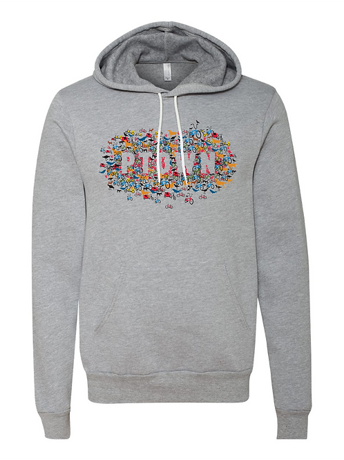 UNISEX PULLOVER HOODY-Collage'